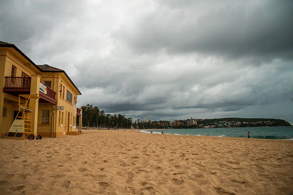 An overview of Greenmount beach surf club